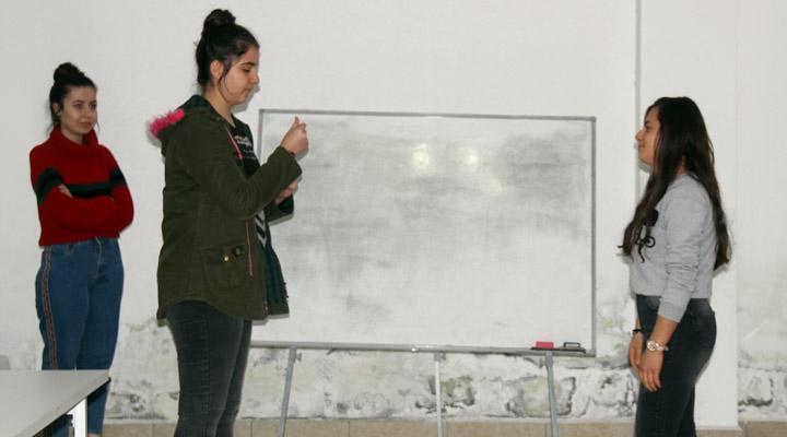 Samandağlı gençlerden 'İşaret Dili' kursuna yoğun ilgi