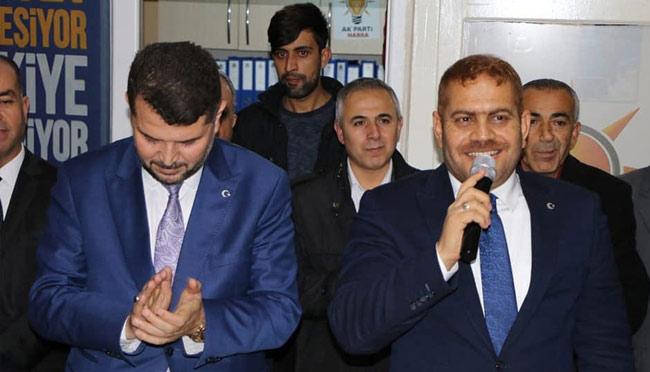 AK Parti Büyükşehir Adayı Güler, Hassa'da partililerle buluştu