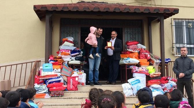 'Dilek ağacı' Projesi ile 260 öğrenciye hediye dağıtıldı