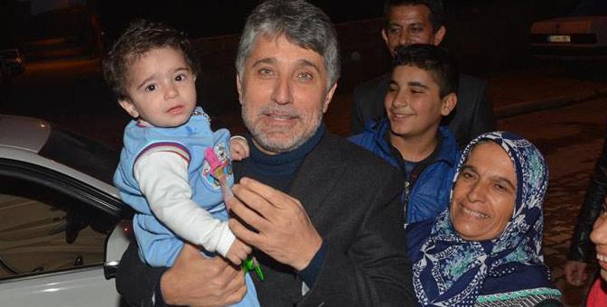 Başkan Yavuz'dan 1 Yaşındaki adaşına ilgi