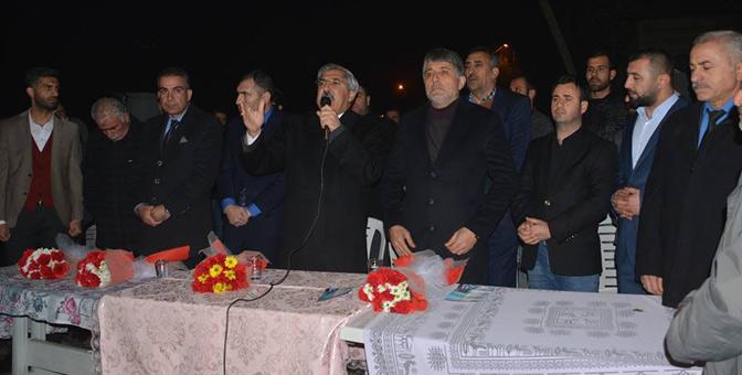 Mahalle halkından Başkan Yavuz'a yoğun ilgi