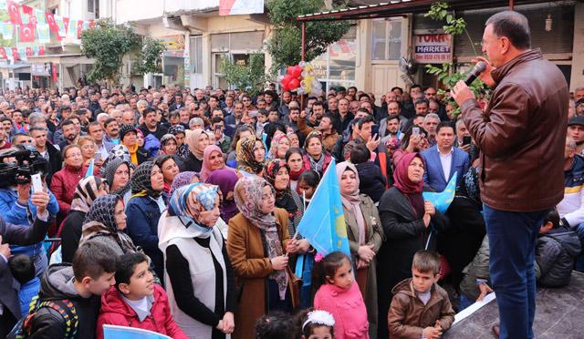 Hassa'da Millet ittifakı seçim bürosu açıldı