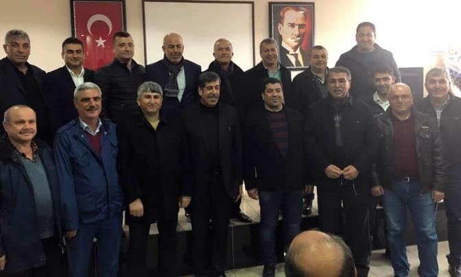 Kırıkhan Ziraat Odası Başkanı Mehmet Çelik oldu