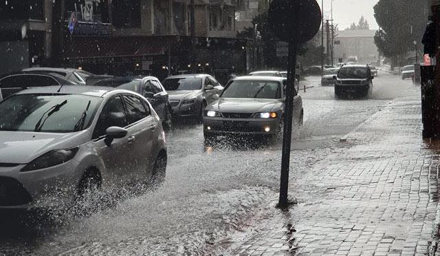 Hatay'da sağanak yağış