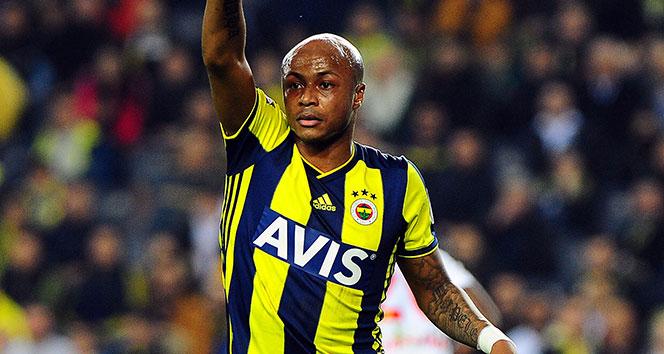 Ayew, M.Başakşehir maçında cezalı duruma düştü