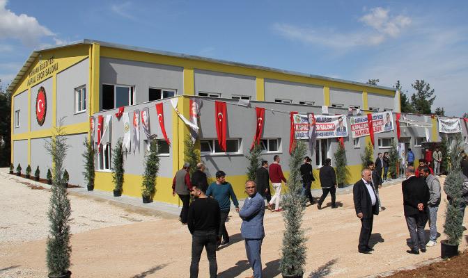 Türk ve Suriyeli gençlere yönelik sosyal uyum projesi
