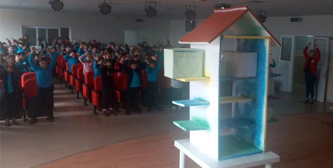 Kızılay'dan öğrencilere Deprem ve Afet eğitimi