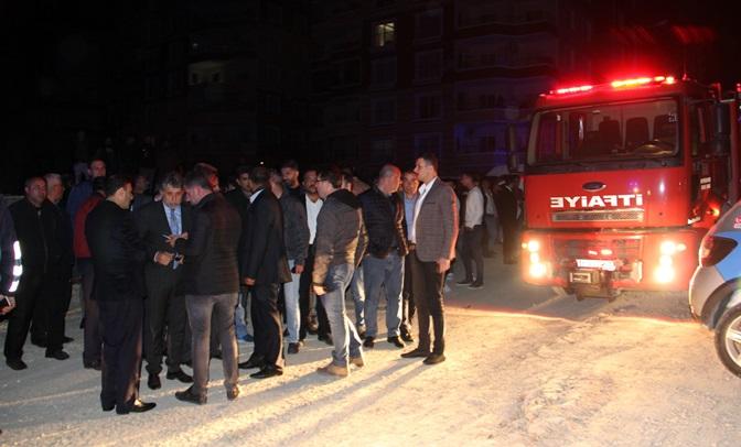 Kırıkhan'da korkutan yangın