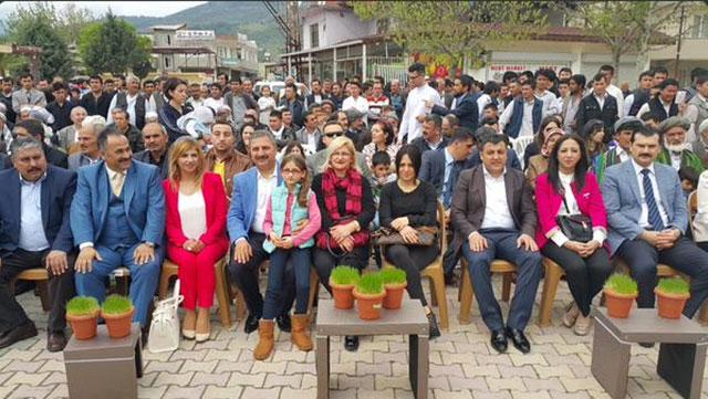 Başkan Kimyeci Nevruz etkinlikleri için Ovakent'e gitti