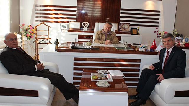 MHP Hatay Milletvekili A. Adayı Akdoğan'dan Medya Grubumuza ziyaret