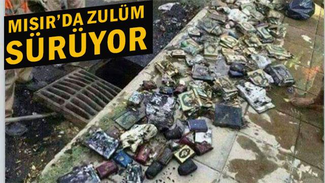 Kur'an-ı Kerimleri Kanalizasyona Attılar!