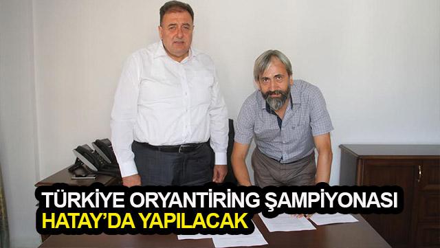 Türkiye Oryantiring Şampiyonası Hatay'da yapılacak