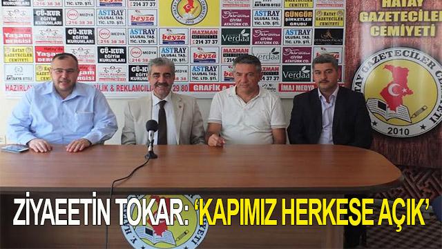 Saadet Partisi Genel Başkan Yardımcısı Tokar Hatay'da konuştu