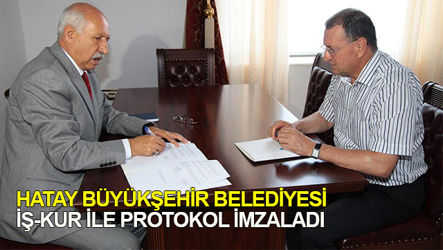 HBB İŞ-KUR ile protokol imzaladı