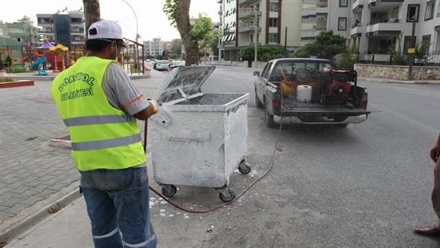 Dörtyol Belediyesi temizlik çalışmalarına devam ediyor