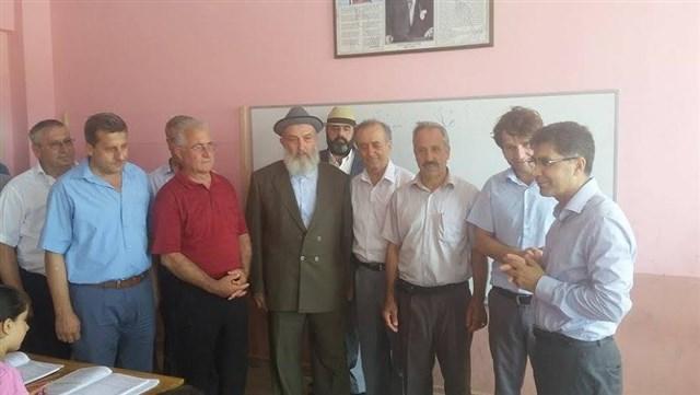 Samandağ Kaymakamı Çelik Arapça kursunu ziyaret etti