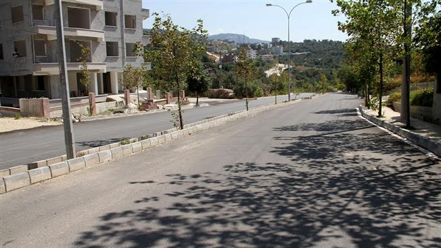 HBB Dursunlu Mahallesi'nin yolunu asfaltladı
