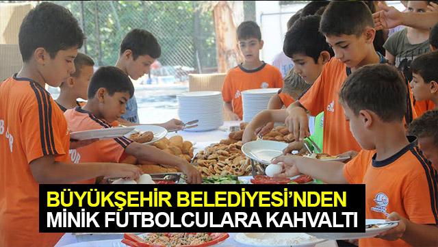 HBB'den minik futbolculara kahvaltı