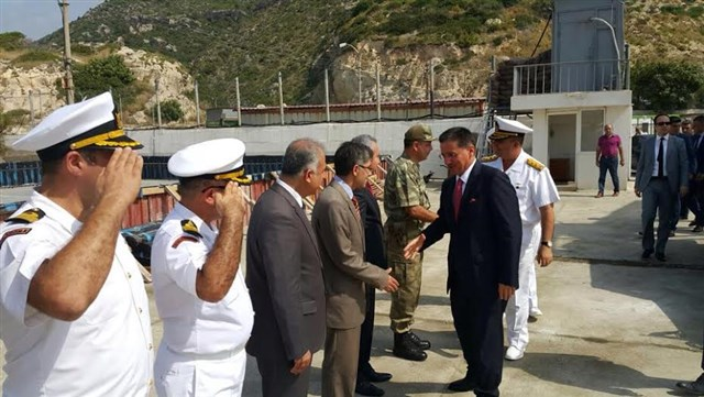 Samandağ Sahil Güvenlik Komutanlığı'na ziyaret