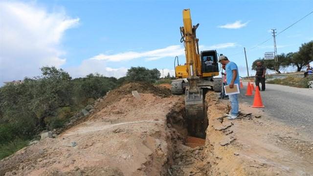 Altınözü'ne 850 Metre kanalizasyon hattı döşeniyor