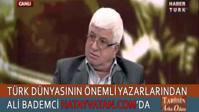 Ünlü Yazar Ali Bademci HatayVatan.com'da