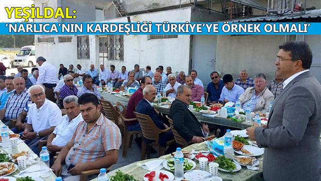 AK Parti Hatay Milletvekili Yeşildal'ın seçim çalışmaları sürüyor