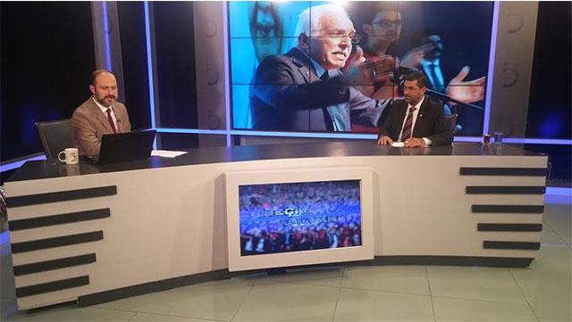 Saadet Partisi Hatay Milletvekili adayları Öksüz ve Bük TV5'e konuk oldular