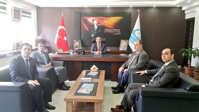PTT Merkez Müdürü Çeçen'den Başkan Kimyeci'ye ziyaret