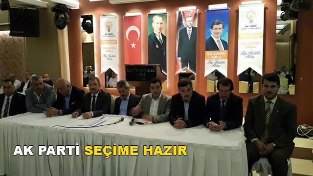 'AK Parti seçime hazır'