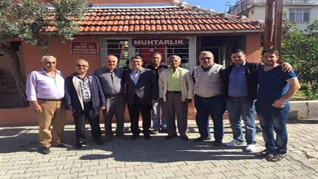 AK Parti Milletvekili Yeşildal 'Düğümü muhtarlar çözecek'