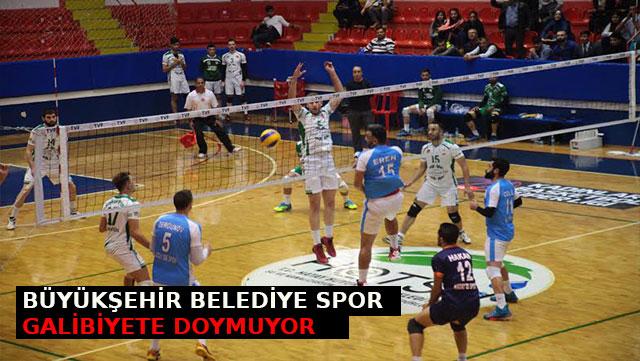 Büyükşehir Belediye Spor galibiyete doymuyor