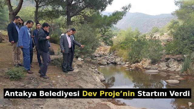 Antakya Belediyesi Dev Proje'nin startını verdi