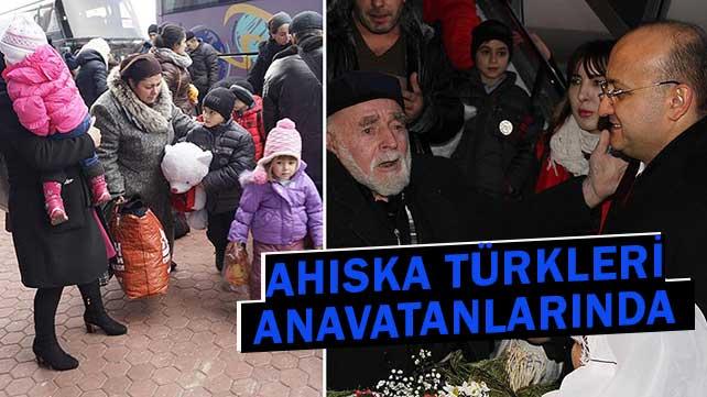 Türkiye Ahıska Türklerine kucak açtı