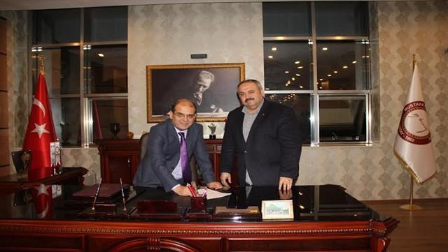 Mustafa Kemal Üniversitesi ve Beyazay Derneği'nden örnek işbirliği