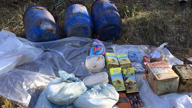 Belen'de PKK'ya ait depo bulundu