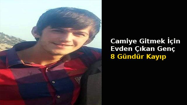 İskenderun'da Camiye gitmek için evden çıkan genç 8 gündür kayıp