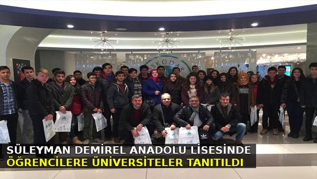 Dörtyol'da öğrencilere Üniversiteler tanıtıldı