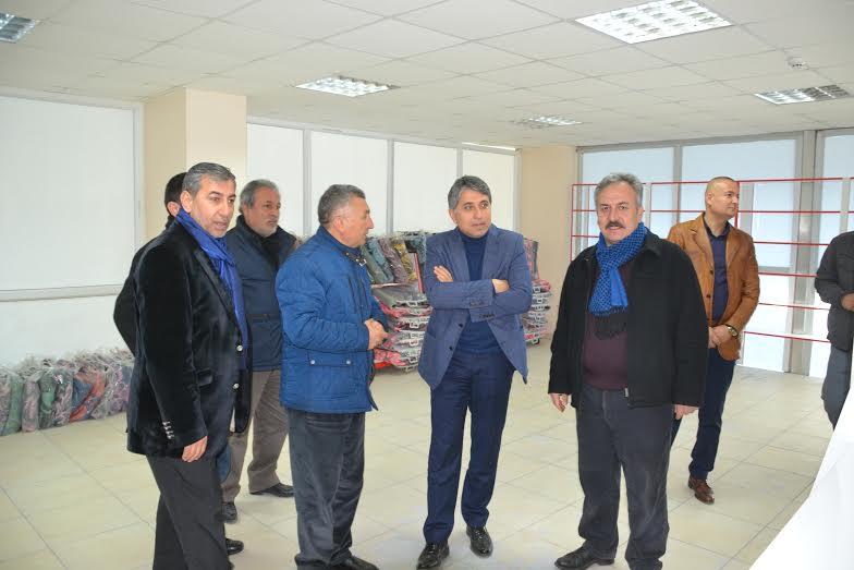 Başkan Yavuz HAYAD Derneğini ziyaret etti