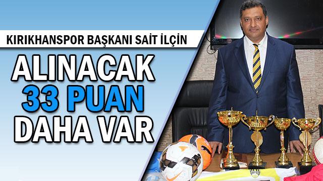 Kırıkhanspor Başkanı Sait İlçin'den sağduyu çağrısı