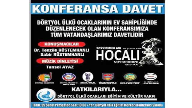 Türk dünyasının önemli isimleri Dörtyol'da konferans verecek