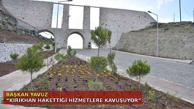 Başkan Yavuz 'Kırıkhan hakettiği hizmetlere kavuşuyor'