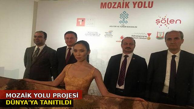 'Mozaik Yolu' projesi Dünyaya tanıtıldı