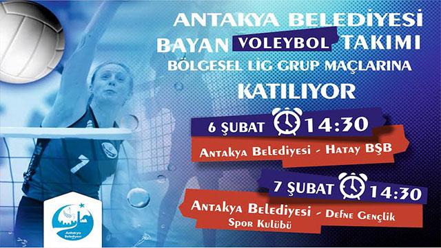 Antakya Belediyesi Bayan Basketbol Takımı Bölgesel Lig'de yarışacak
