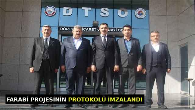 Farabi Projesinin protokolü imzalandı
