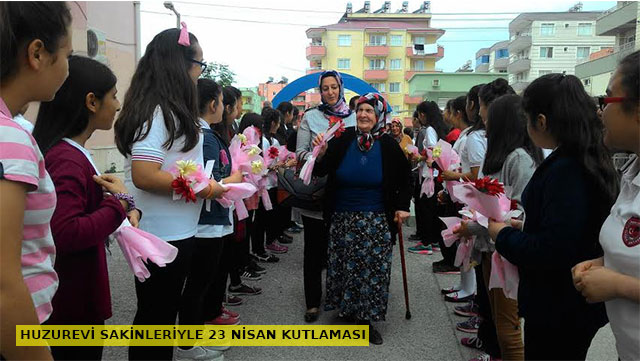 Huzurevi Sakinleriyle 23 Nisan kutlaması