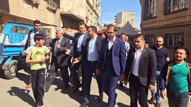 CHP Heyeti Kilis'de incelemelerde bulundu