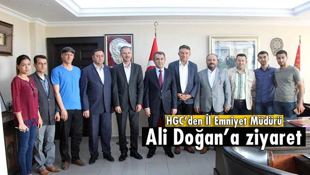 HGC'den Emniyet Müdürü Uludağ'a nezaket ziyareti