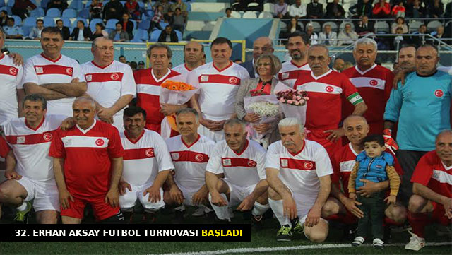 32. Erhan Aksay Futbol Turnuvası başladı