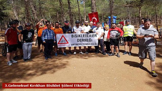 3.Geleneksel Kırıkhan Bisiklet Şöleni etkinliği