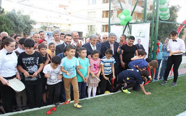 Defne Belediyesi'nden 'Ücretsiz Yaz Futbol Okulu'